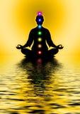 Na meditação Foto de Stock Royalty Free