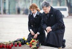 Na memória do fome-genocídio de 1932-1933 em Ucrânia Imagem de Stock Royalty Free