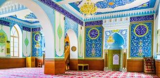 Na mesquita de Jumah de Tbilisi Fotografia de Stock Royalty Free