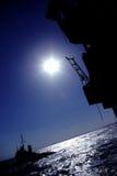 na morzu obrazy stock