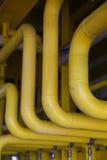 Na morzu budowy platforma dla przemysłu, ciężkiej pracy, produkci platformy i operaci produkci ropa i gaz, Ropa i gaz, Fotografia Royalty Free