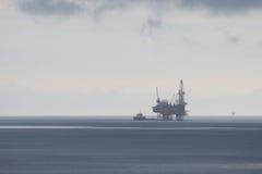 Na morzu Jack Na morzu TARGET583_1_ Takielunek w Deszczowym Dniu Zdjęcia Royalty Free