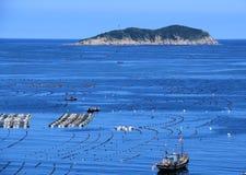 Na morzu krajobraz zdjęcia royalty free
