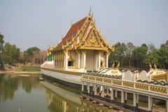 Na Muang запрета Wat, провинция Ubon Ratchathani, Таиланд Стоковые Фотографии RF