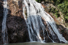 Na Muang waterfall Royalty Free Stock Photography