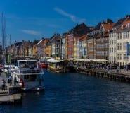 Na nabrzeżu - Nyhavn Zdjęcia Royalty Free
