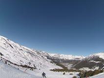na narty wysokogórski Zdjęcia Royalty Free