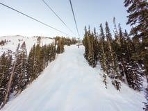 na narty wysokogórski Obraz Stock