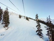na narty wysokogórski Zdjęcie Stock