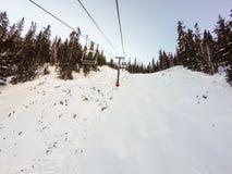 na narty wysokogórski Zdjęcie Royalty Free