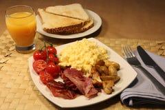 na śniadanie Zdjęcia Royalty Free