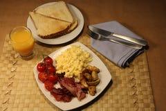 na śniadanie Fotografia Stock