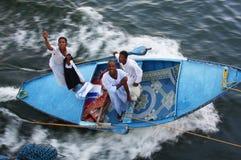 Na Nil tkanina sprzedawcy Fotografia Stock