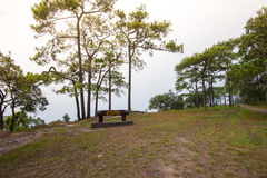 Na noi cliff at PhuKradueng national park Royalty Free Stock Photography