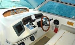 na łodzi Zdjęcia Stock
