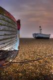 na łodzi Obraz Stock