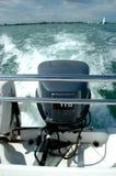 na łodzi Zdjęcia Royalty Free