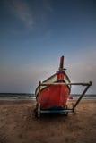 na łodzi Zdjęcie Royalty Free