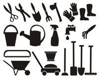 na ogród zestawów narzędzi Ilustracji