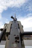 Na okręt wojenny maszyna pistolet Zdjęcia Stock