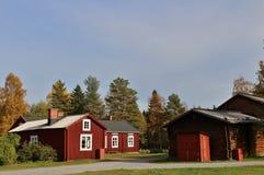 Na otwartym powietrzu muzealny Hägnan Obrazy Royalty Free