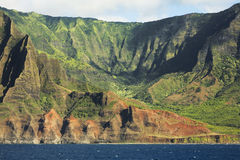 Na Pali Caost Valley Stock Photo