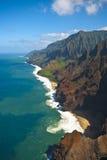 Na Pali Coast. North Shore of Kauai Royalty Free Stock Photo