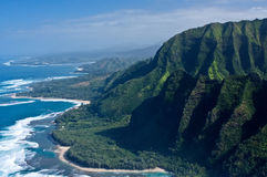 The Na Pali Coast Royalty Free Stock Photography