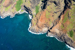 Na Pali Coast Hawaii Royalty Free Stock Photography