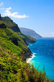 Na Pali coast, Kauai Stock Photography