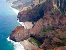 Na Pali coast of Kauai Royalty Free Stock Photography