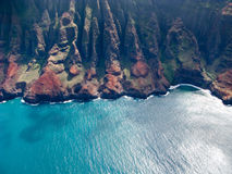 Na Pali coast of Kauai Stock Photos