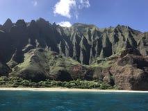 Na Pali Coast royalty free stock images