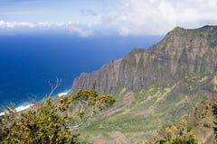 Na Pali coast - Kauai, Hawaii Royalty Free Stock Photo