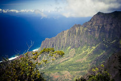 Na Pali coast - Kauai, Hawaii Stock Photo