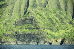 Na Pali Coast Mountains Royalty Free Stock Images
