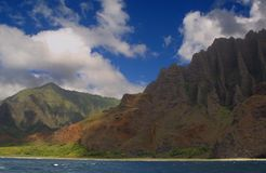 Na pali coast state park Stock Photos