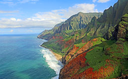Na Pali Coast Royalty Free Stock Photo