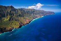 Na Pali Coastline Kauai Stock Photos