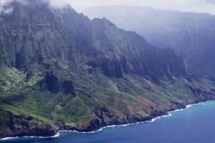 Na Pali Coastline, Kauai, Hawaii, USA royalty free stock photo