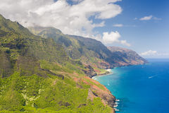 Na Pali Cost on Kauai island Stock Images