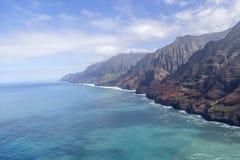 Na-`-Pali kust av Kauai, Hawaii Royaltyfri Fotografi