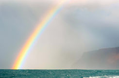 Na Pali rainbow Stock Photo