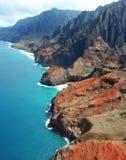 Na Pali wybrzeże, Kauaʻi Hawaje Zdjęcie Stock