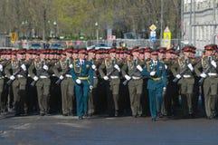 Na parte dianteira do comandante Fotografia de Stock