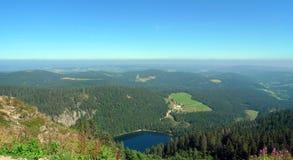 Na parte superior da montanha Fotografia de Stock
