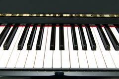 - na pianinie Obraz Stock