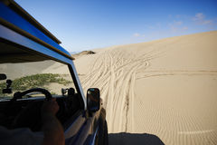 Na piaskowatej drodze obrazy royalty free