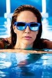 Na piscina Fotografia de Stock Royalty Free