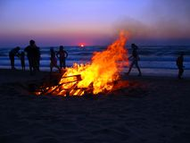 na plaży 1 Korfu Obrazy Stock